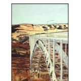 61 - bridge at glen canyon dam, arizona