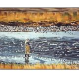 15 - fisherman in yellowstone, wyoming