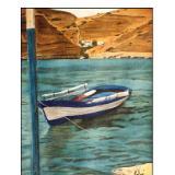 rowboat near shore