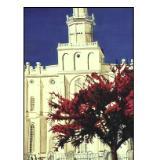 69 - first utah mormon church, st. george, utah