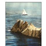 koubara point with sailboat
